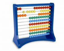 Buy Learning Resources Ten Row Counting Abacus Kid Children Fun Educational Smart