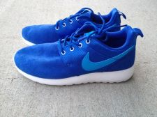 Buy New Nike Rosherun (GS) 599728 400 Game Royal/Blue Hero-White - size 4Y