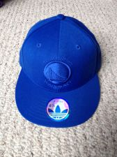 Buy New Golden State Warriors Adidas Hat Blue - size 6-7/8 Fitted