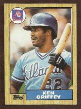 Buy 1987 TOPPS KEN GRIFFEY #711 Baseball Card