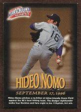 Buy 1997-98 Fleer Million Dollar Moments #16 - Hideo Nomo - Dodgers