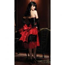 Buy Stunning Raven Corset and Bustle Skirt XL