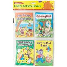 Buy Children's 8 Mini Activity Books