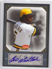 Buy 2006 Fleer Greats of the Game BILL MADLOCK Autograph Auto Pirates Cubs Dodgers