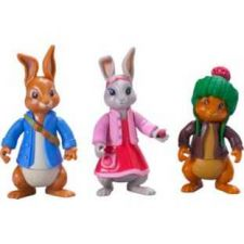 Buy Beatrix Potter - Peter Rabbit Best Friends Toy Figures - 3 Pack - Easter