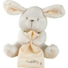 Buy Little Ones Plush Rabbit with Blanket Toy - Easter