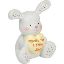 Buy Little Ones Resin Money Piggy Bank Rabbit - Easter
