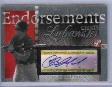 Buy 2004 Topps Pristine Chris Lubanski Personal Endorsements Auto Royals Phillies