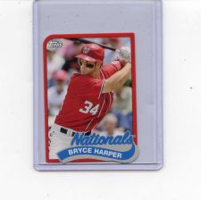 Buy 2014 TOPPS MINI BRYCE HARPER #TM 49 NATIONALS SEE PIC HIGH GRADE CARD