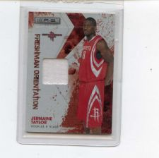 Buy 2009 ROOKIE STARS JERMAINE TAYLOR RC JERSEY ROCKETS /299 SEE PIC