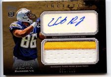 Buy 2011 Topps Inception Vincent Brown RC Patch Auto /599 San Diego Charges 3 color