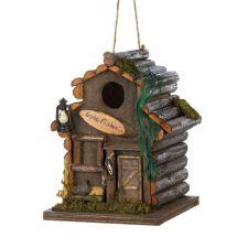 Buy Fishing Cabin Birdhouse