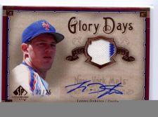 Buy RARE 2008 SP Legendary Cuts Lenny DYKSTRA Auto Jersey 2 Colored NY Mets Phillies