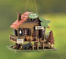 Buy Woodland Cabin Birdhouse