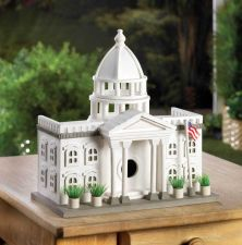 Buy White House Birdhouse