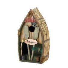 Buy Fishing Boat Birdhouse