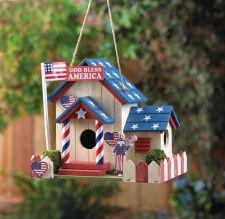 Buy Patriotic Birdhouse
