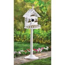 Buy Freestanding Victorian Birdhouse