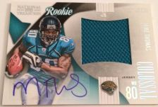 Buy 2009 National Treasures Colossol Mike Thomas Auto Jersey RC /50 Jaguars Texans