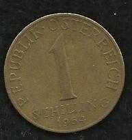 Buy Austria Coin 1-Schilling Aluminum-Bronze 1964