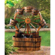 Buy Wagon Wheel Fountain