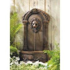 Buy Lion's Head Courtyard Fountain