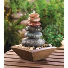 Buy Zen Stacked Stone Fountain