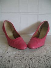 Buy 1960's High Heel Shoes - Hot Pink