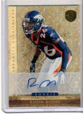 Buy 2011 Panini Gold Standard Rookie Rahim Moore /299 Broncos RC Auto Autograph