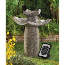 Buy Temple Solar Water Fountain