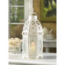 Buy White Lattice Lantern