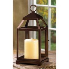 Buy Bronze Contemporary Candle Lantern