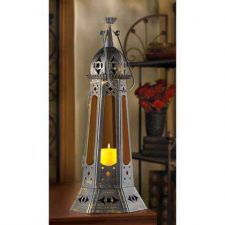 Buy Moroccan Tower Candle Lantern