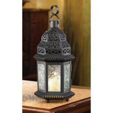 Buy Clear Glass Moroccan Lantern