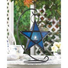 Buy Sapphire Star Table Lantern