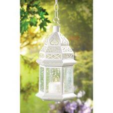 Buy Large White Moroccan Lantern