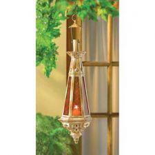 Buy Amber Teardrop Lantern