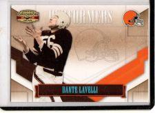 Buy 2008 Donruss Gridiron Gear Dante Lavelli Performers Platinum #6 Browns SP /25