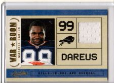 Buy 2011 Absolute Marcell Dareus War Room Rookie Jersey Buffalo Bills Alabama RC