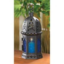 Buy Ocean Blue Candle Lantern