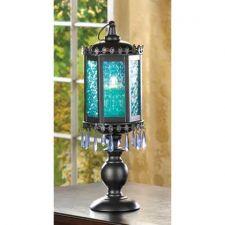 Buy Exotic Azure Pedestal Lantern