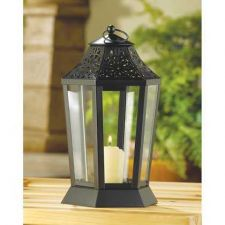 Buy Midnight Garden Candle Lantern