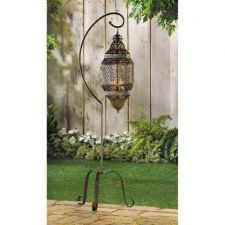 Buy Moroccan Candle Lantern with Stand
