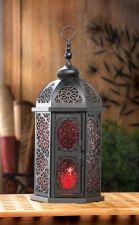 Buy Paprika Tall Moroccan Lantern
