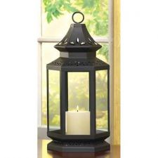 Buy Large Black Stagecoach Lantern
