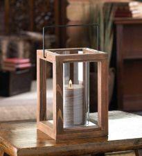 Buy Rustic Garden Wooden Lantern