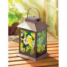 Buy Solar Powered Floral Lantern