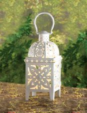 Buy White Medallion Lantern