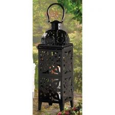 Buy Giant Size Black Medallion Lantern