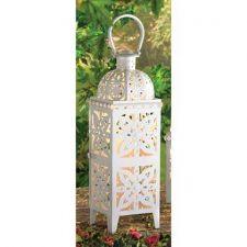 Buy Giant Size White Medallion Lantern